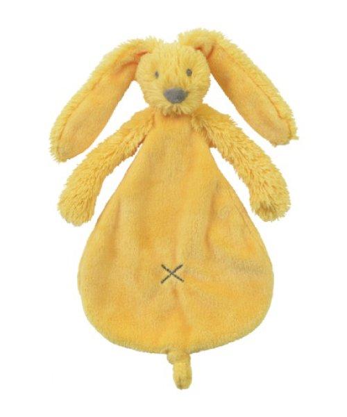 Knuffeldoekje Yellow Rabbit Richie Tuttle-Happy Horse-kraamkado-liefenleukkraamkado.nl