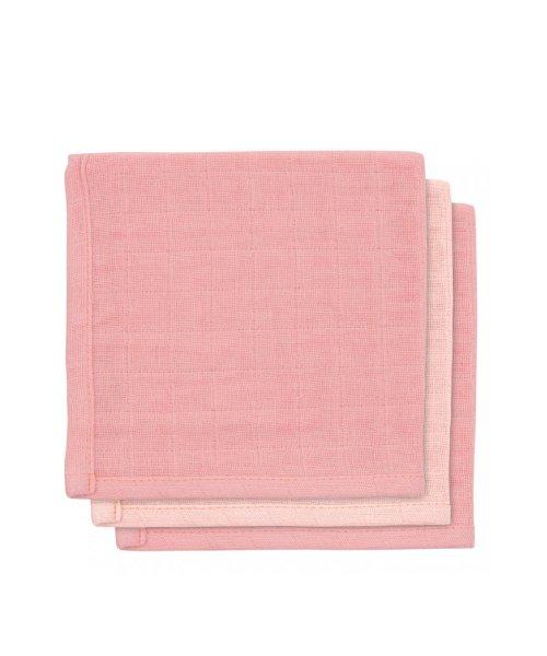 Jollein | Bamboe monddoekje Pale pink (3pack)