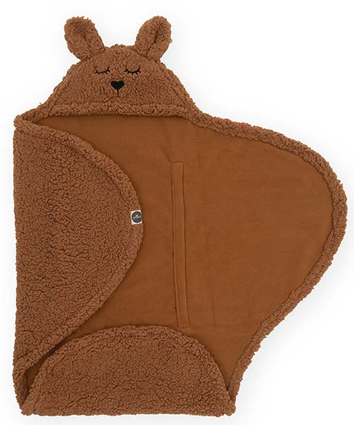 Jollein - Wikkeldeken Bunny - caramel