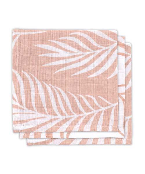 Jollein-Monddoekjes-Monddoekjes-hydrofiel-Nature-Pale-Pink-3-Stuks
