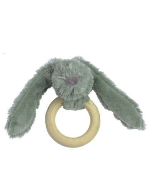 Houten bijtring Green Rabbit Richie van HappyHorse